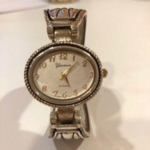 Geneva Platinum Vintage Watch
